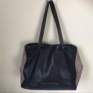MARC by MARC JACOBS Pebbled Leather Tote Hobo Shoulder Bag Handbag Medium